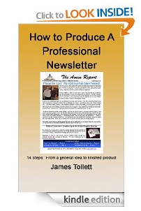 Newsletter ebook cover